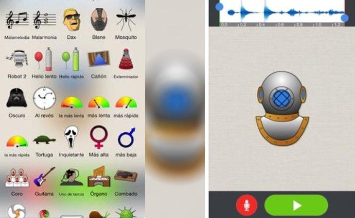La aplicación Voice Changer Plus para iOS