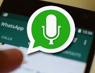 El truco para enviar audios de WhatsApp con voz de robot, ardilla o marciano