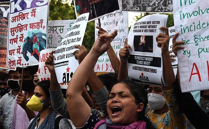 Las salvajes violaciones que tienen lugar en India han desertado oleadas de protestas