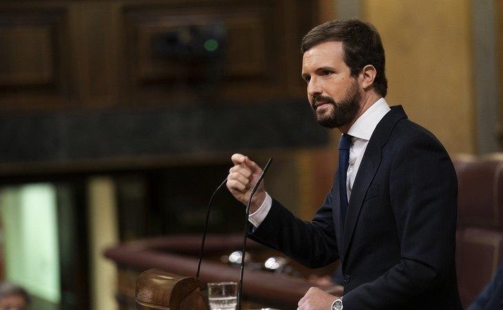 Pablo Casado impone a sus cargos agitar el miedo a ETA y EH Bildu