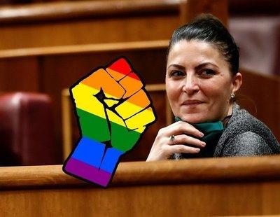 """Macarena Olona (VOX) pide llevar """"a los homosexuales a terapia, a un especialista"""""""