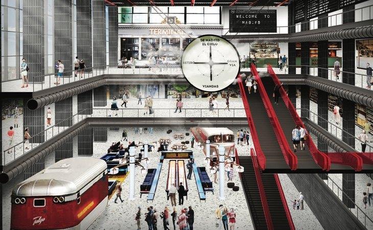El MAD-FD es el mayor ejemplo de la reconversión que enfrentan algunos centros comerciales de El Corte Inglés
