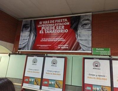 """Críticas a la campaña contra el coronavirus de Madrid destinada a los jóvenes: """"Nos hacéis sentir culpables"""""""