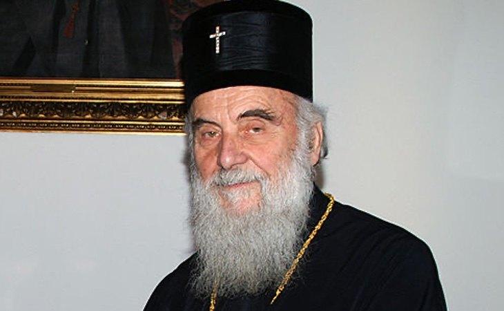 El patriarca de la Iglesia serbia, Irineo I