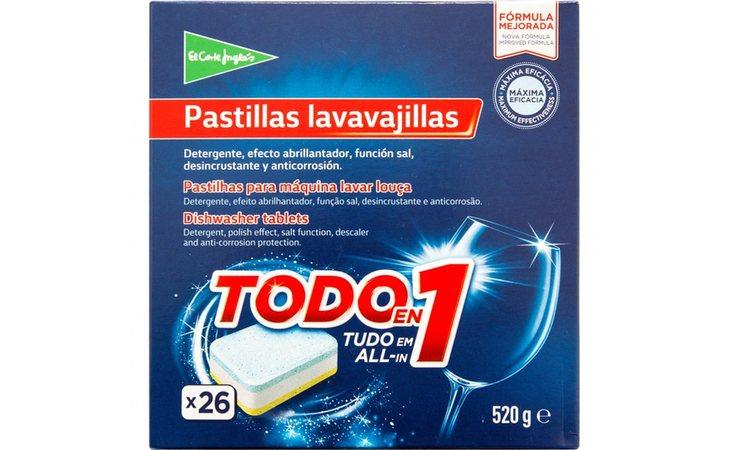 Las pastillas de El Corte Inglés cuestan 2,85 eurosc