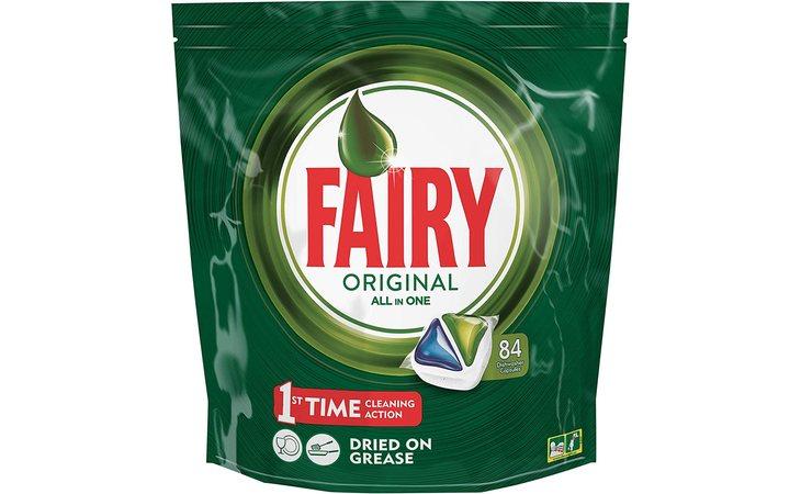 Las cápsula de Fairy Original son de las más caras, tienen un precio de 11,54 euros