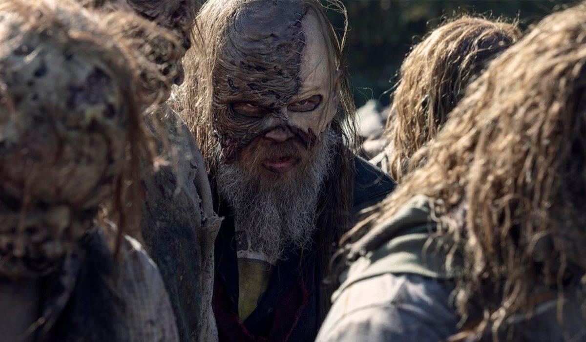 Beta en el enfrentamiento final de 'The Walking Dead'