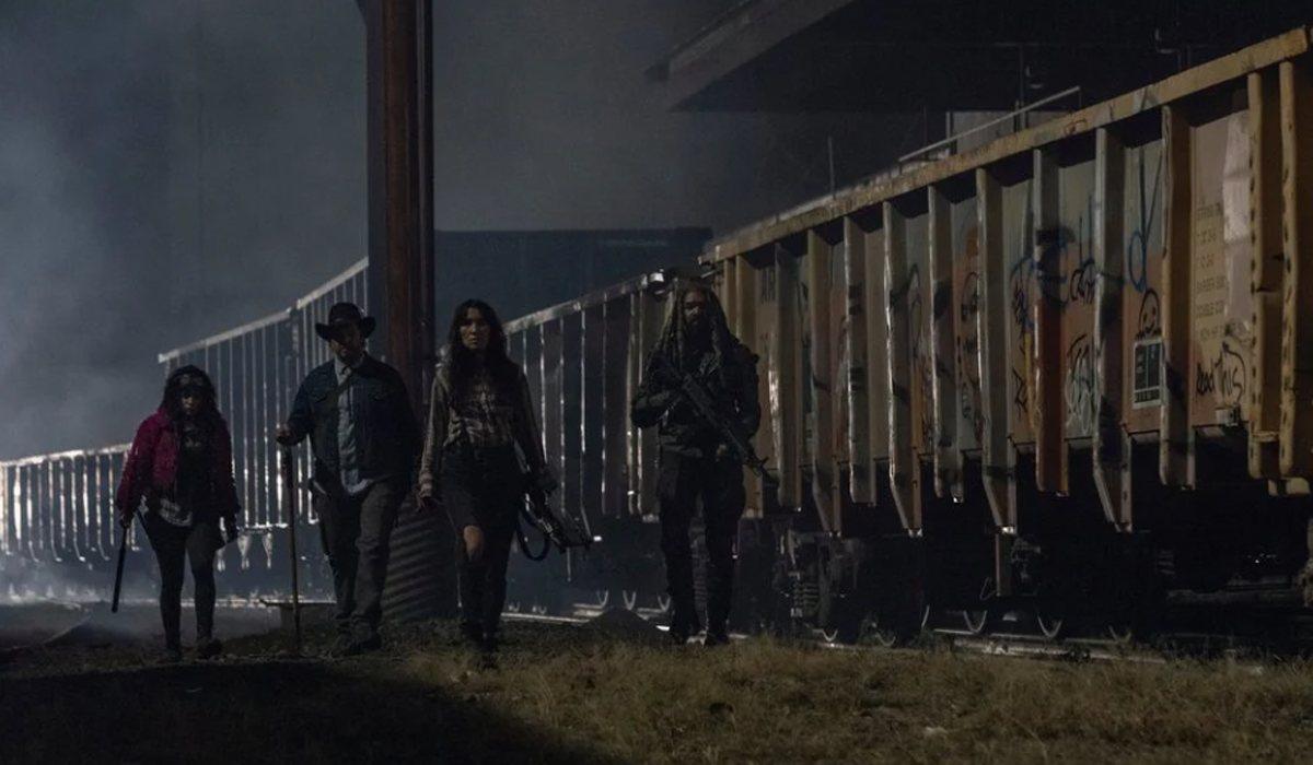 Princesa, Eugene, Yumiko y Ezekiel capturados por la Commonwealth en 'The Walking Dead'