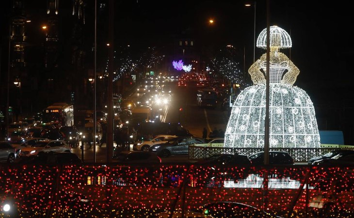 Iluminación navideña de Madrid