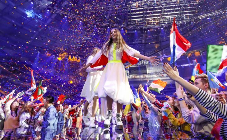 Roksana Wegiel en su actuación ganadora en 2018