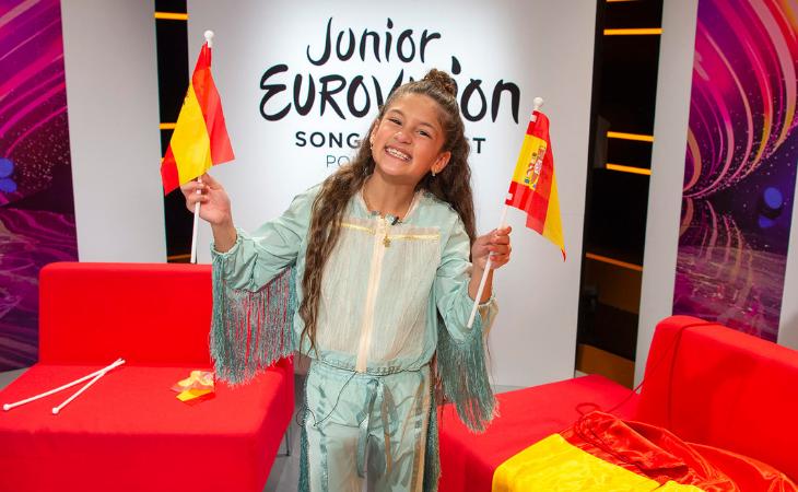 Soleá tras conocer su resultado en Eurovisión Junior