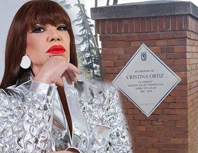 La nueva placa de homenaje a La Veneno tendrá un sistema antivandalismo