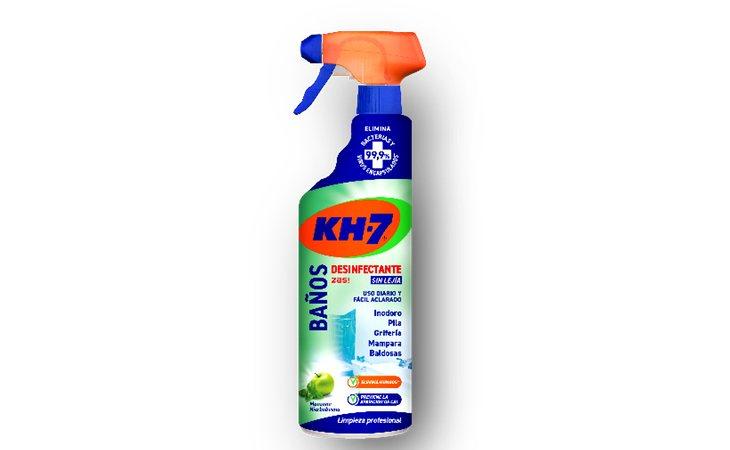 KH-7 Zas para limpiar el baño obtiene un aprobado raspado