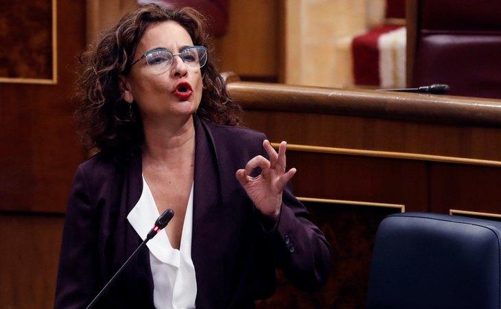 María Jesus Montero, ministra de Hacienda