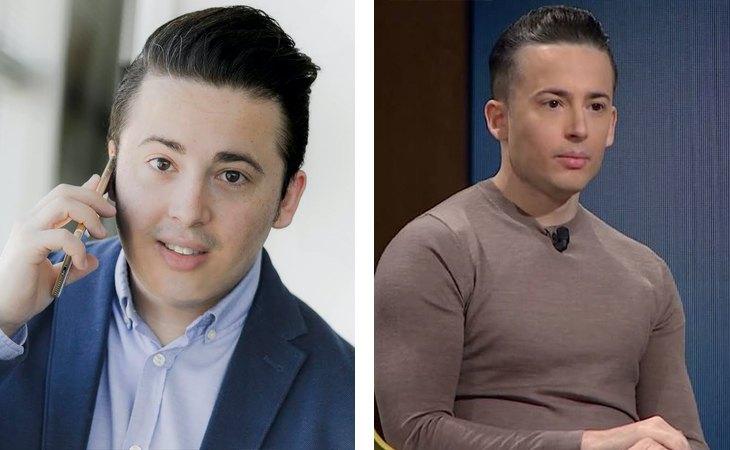 Enrique Espinosa en 2017 y en 2020