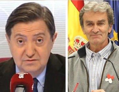 """Losantos, ahora contra Fernando Simón: """"Es un pobre enfermo mental y un payaso"""""""