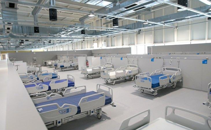 Imagen del interior del Hospital Enfermera Isabel Zendal