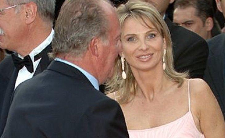 El rey Juan Carlos y Corinna Larsen, examines en pie de guerra