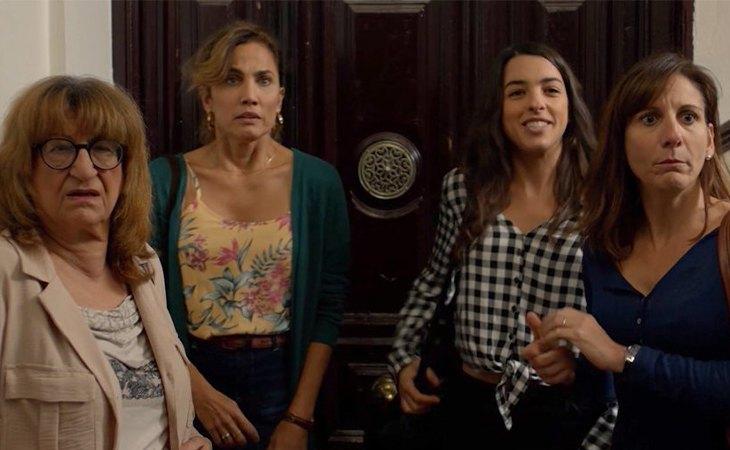 Protagonistas de 'Señoras del (h)AMPA'