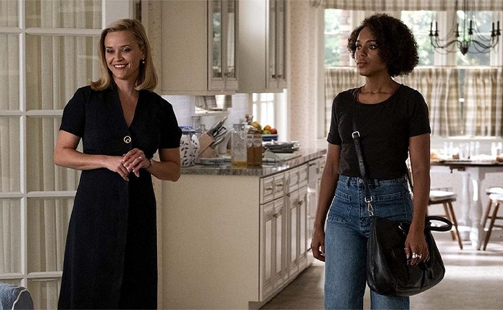 Reese Witherspoon y Kerry Washington en 'Little Fires Everywhere'
