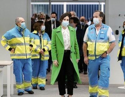 Una enfermera relata el infierno de condiciones de los futuros sanitarios del Zendal