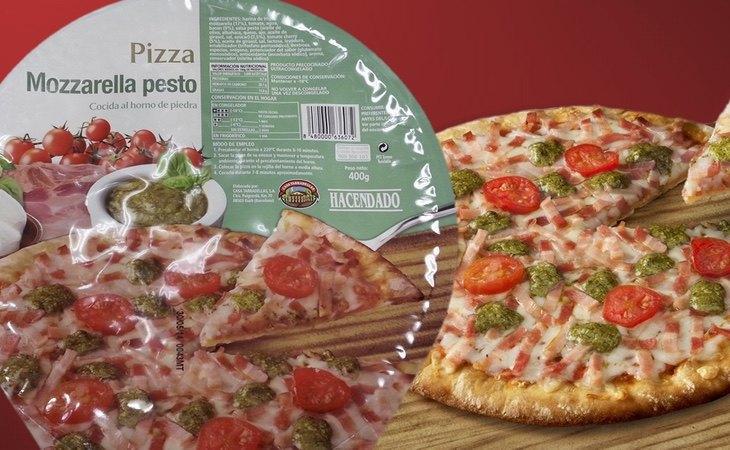 La Pizza de Mozzarella y Pesto de Hacendado no volverá a la venta