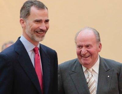 No, ni Zarzuela ni el Gobierno estudian quitarle el título de rey a don Juan Carlos