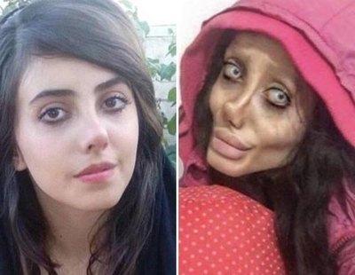 La 'Angelina Jolie zombie' ha sido condenada a diez años de cárcel en Irán
