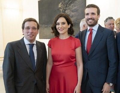Guerra en el PP: Casado, Ayuso y Almeida, enfrentados por el poder en la formación madrileña