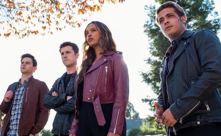 Protagonistas de la cuarta temporada de 'Por trece razones'