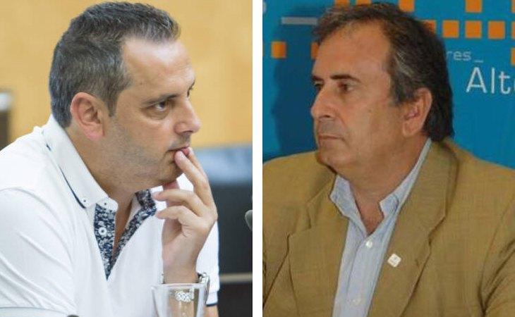 Lorenzo Martínez, edil popular de Seguridad en Benidorm; y Jaime Sellés, expresidente del PP en Altea, detenidos en la operación contra la mafia rusa en España