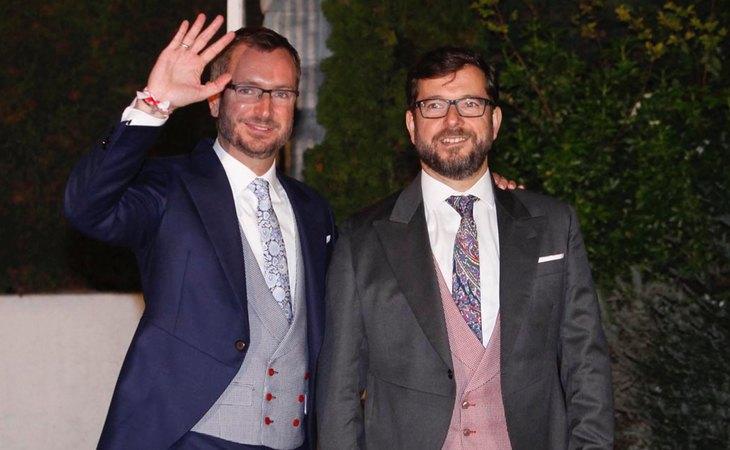 Javier Maroto, portavoz del PP en el Senado, contrajo matrimonio con José Manuel Rodríguez en 2015
