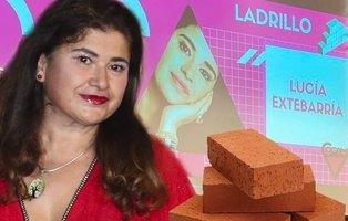 Lucía Etxebarria gana un premio por su transfobia y ella lo ter(f)giversa acusando de que le quieren tirar un ladrillo