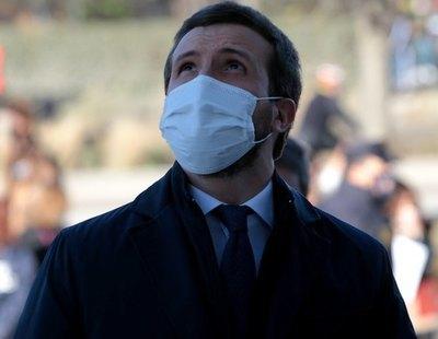 Pablo Casado se niega a cumplir la cuarenta tras haber estado en contacto con un positivo en coronavirus