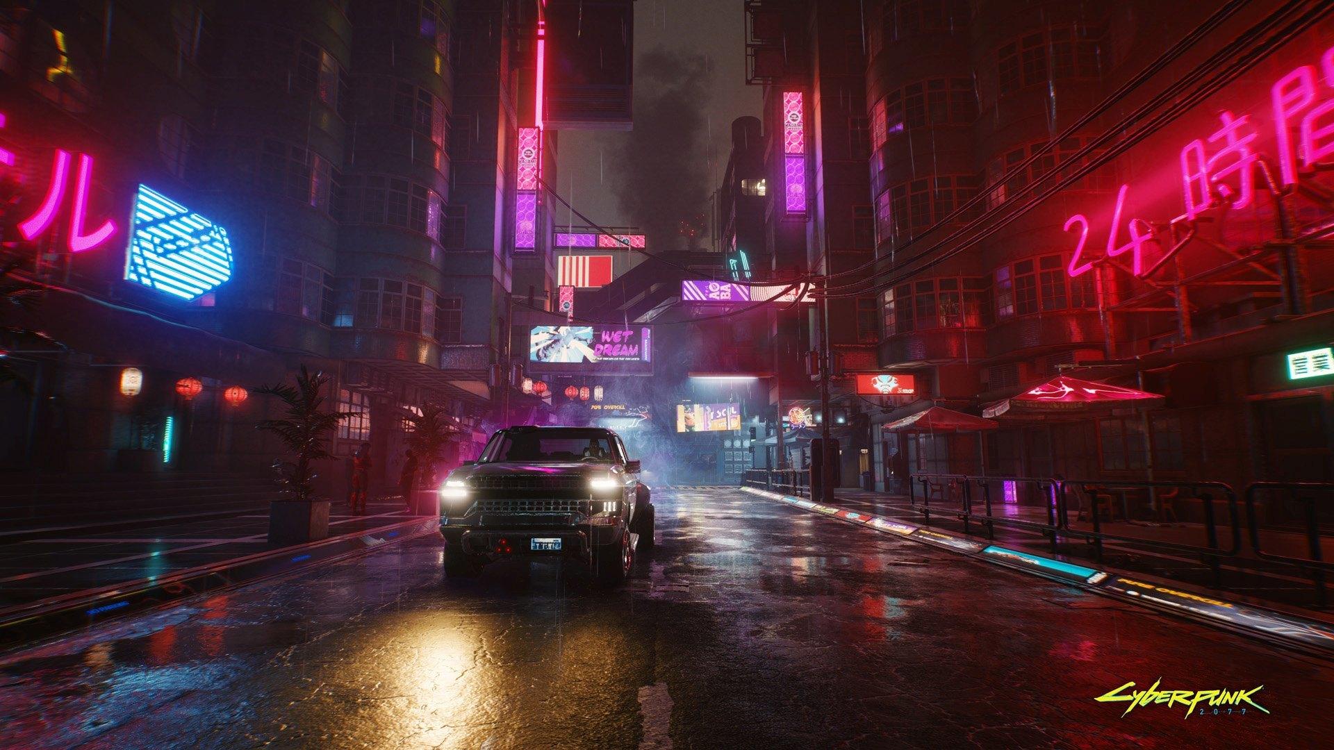 Cyberpunk 2077 prometía una ciudad futurista con alto nivel de detalle
