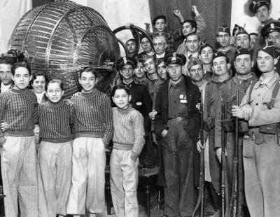 Cuando en España se celebraron dos sorteos de la Lotería de Navidad: El Gordo republicano y franquista