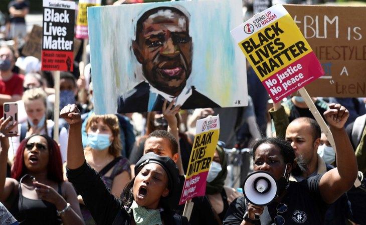 El asesinato de George Floyd, chispa que prendió el movimiento Black Lives Matter