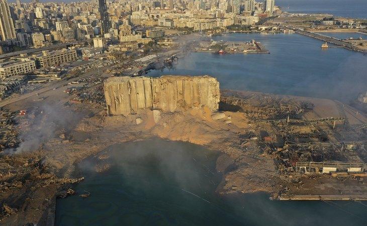 La explosión del puerto de Beirut tuvo consecuencias catastróficas en la capital del Líbano