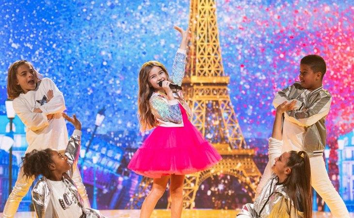 Valentina lleva la victoria a Francia en Eurovisión Junior 2020 con su 'J'imagine'