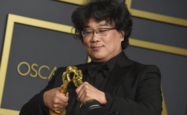 Bong Joon-ho, director de 'Parasitos', película surcoreana que se hizo con cuatro Oscar