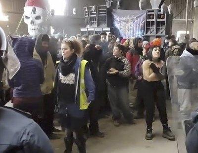 Los Mossos desalojan una rave de 200 personas en Barcelona tras 38 horas de custodia