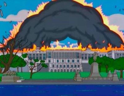 'Los Simpson' lo vuelven a hacer: también 'predijeron' el ataque al Capitolio en 1999
