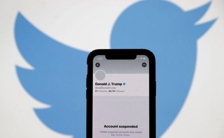 Twitter le ha suspendido la cuenta a Donald Trump