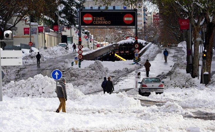 Las bajas temperaturas convertirán la nieve en hielo