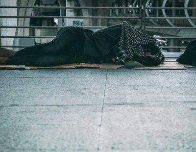 Muere un hombre sin hogar en Vigo que intentó refugiarse del frío de Filomena en un coche abandonado