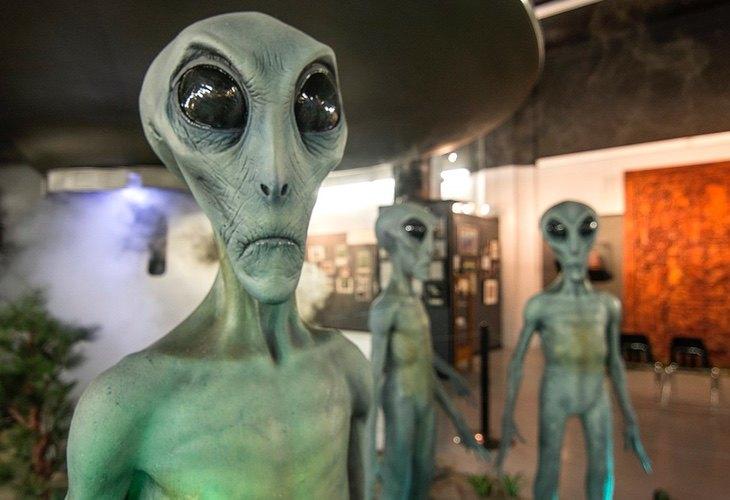 Roswell sigue siendo un gran destino para los amantes de los extraterrestres