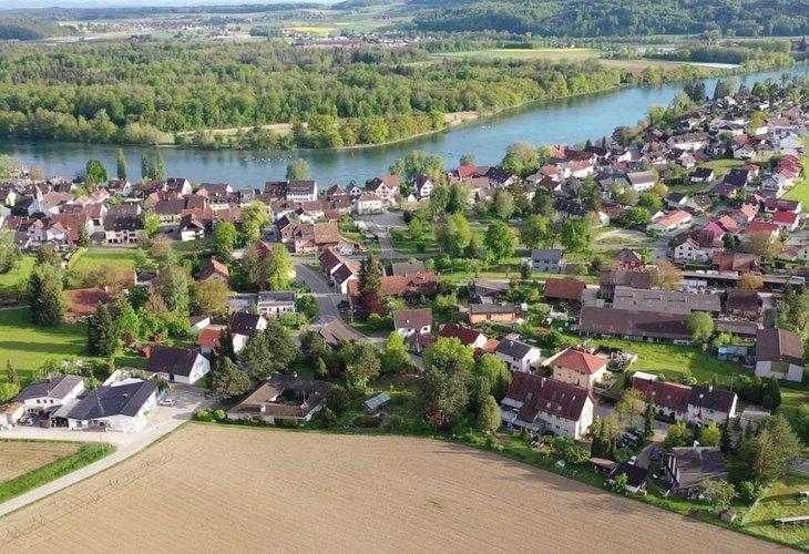 La localidad Bürsingen am Hochrhein guarda una gran peculiaridad por su cogobernanza