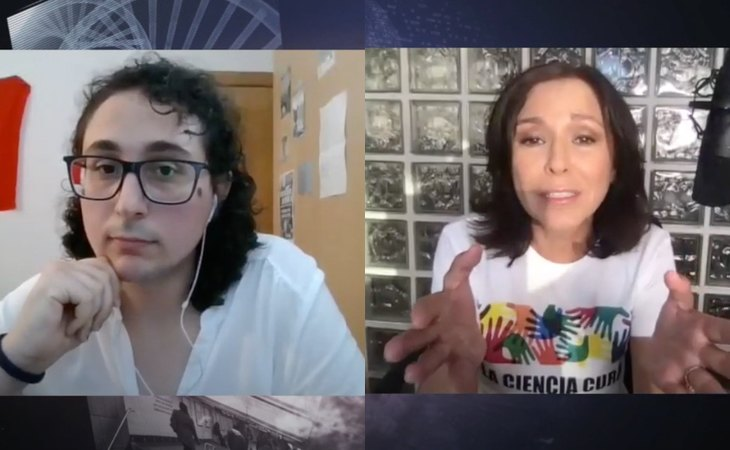La autora y activista trans Rosa María García, en su entrevista con Isabel Gemio en la que analizaron la futura Ley Trans