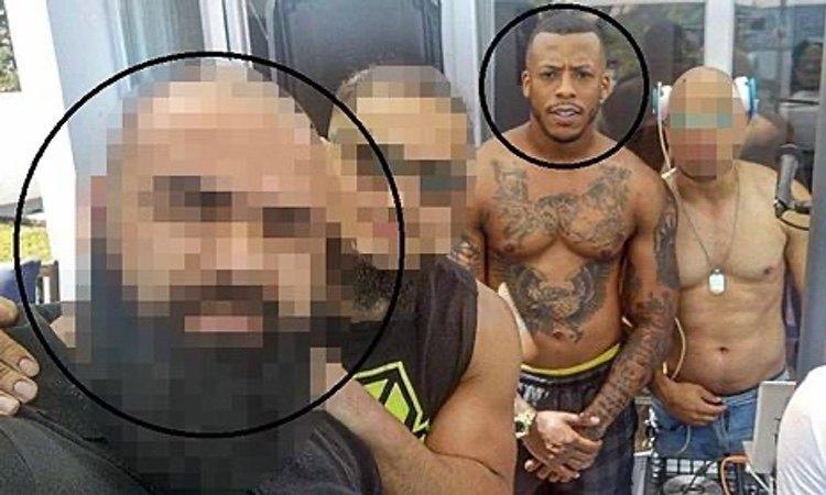 El 'Melillero', junto a un policía investigado por narcotráfico
