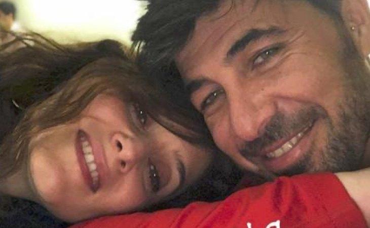 Ayuso y Jairo Alonso, en una fotografía difundida en redes sociales